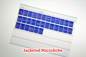 Jacketed Microfiche