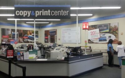 Document Scanning Costs of Shipping & Office Supply Stores Compared vs an Imaging Company