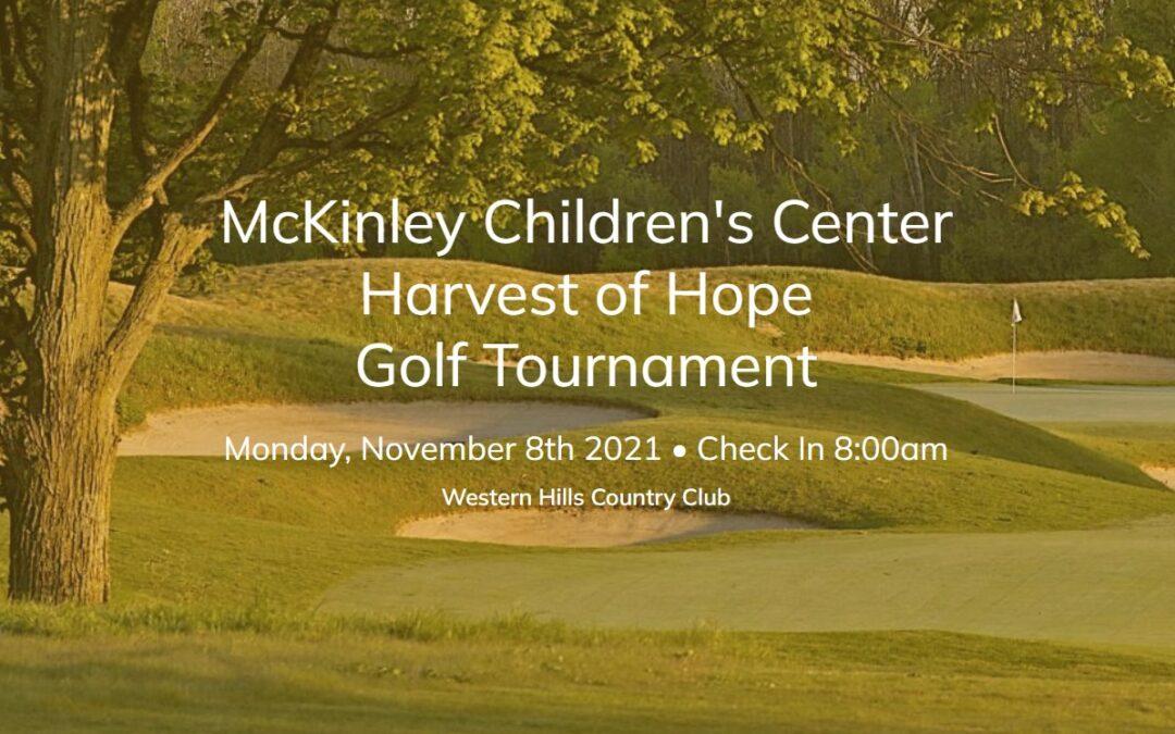 McKinley Children's Center Harvest of Hope 2021 Golf Tournament Fundraiser